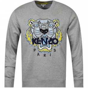 45ad80419 KENZO Black Crew Neck Written Logo Sweatshirt - Department from ...